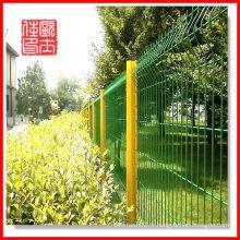 Clôture en treillis métallique / clôture en treillis métallique revêtue de PVC et clôture en treillis en triangle