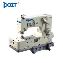 Máquina de costura industrial do picot do ponto chain do dobro da cama DT1302-4W lisa