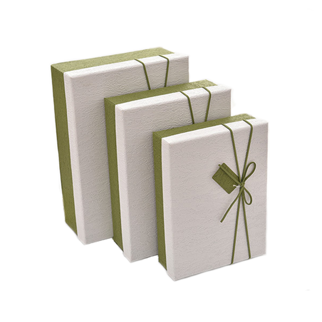 Fancy Paper Rigid Gift Box