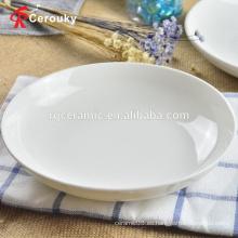 Plato de la tabla de la cena aprobada por la FDA de tamaño personalizado