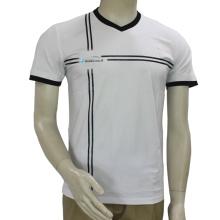 卸売カスタムTシャツバルクプレーン染め白Ptinting Tシャツ
