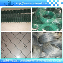 Acid-Resisting Chain Link Fencing Mesh