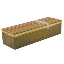 Wholesale Custom Luxury  wooden Gift Packaging wine box large gift box with magnetic lid