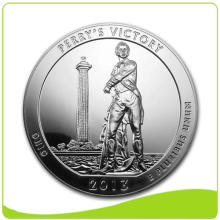 Factory directly sale for Silver Plated Coin Silver Plated Custom Commemorative Coin supply to France Manufacturers