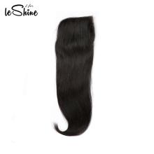 100 Percent Human Hair  Straight Brazilian Closure