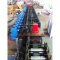 Laminado en frío de acero perforado en forma de C Cinta de acero galvanizado en forma de rodillos Formando máquina de fabricación EE.UU.