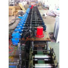 Suporte de aço solar perfurado para suportes de coletor solar Roll formando fazer a máquina Malásia