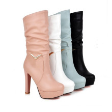 Several Coulors High Heel Women Boots
