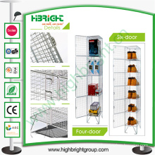 Zinc Galvanized Storage Metal Mesh Locker