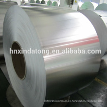 Bobinas de aluminio de cierre 8011 para tapas de pp