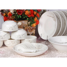 high quality ceramic dinner set with customized logo