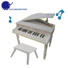 Wooden Classic Toy Piano with bench