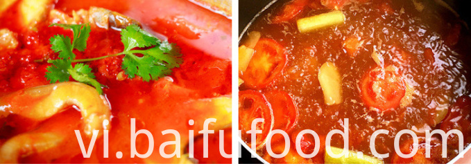 500g tomato hot pot bottom material