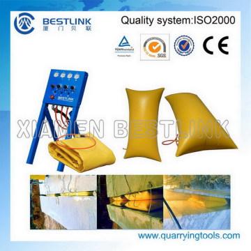 Завод изготовил полимерный валик подушки безопасности для мрамора