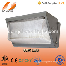 UL DLC ETL 60W led wall pack washer light