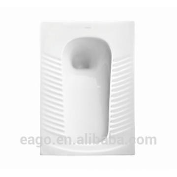EAGO promotion product ceramic Squat pan outlet 90mm with elbow DA3030-f