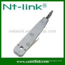 Krone type steel hole punch tool