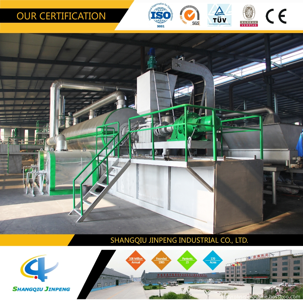 continuous pyrolysis machine