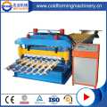 Steel Glazed Roof Tile Cold Roll Forming Machine