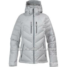 hooded trendy new design down jacket for women