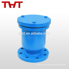 Single Ball Orifice Air Release Valve