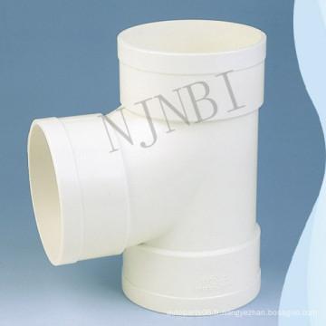 Douille en PVC blanc