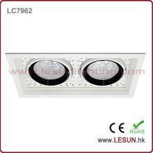 Cabeças duplas 2X7w COB Downlight / Spotlight LC7962