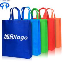 Dokunmamış çanta alışveriş cep katlama ve taşınabilir