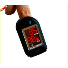Black Mini Fingertip Pulse Oximeters For Oxygen Bar Ce