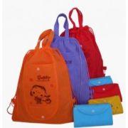 non tissé, sacs, sacs à provisions eco amical de pliage
