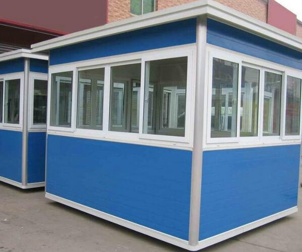 Prebuilt Light Steel Frame Security Guard Booth