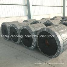 Cinta transportadora de PVC de alta eficiencia para el manejo de materiales a granel