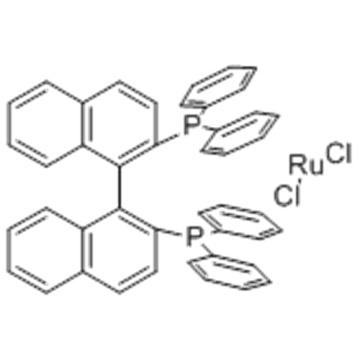 DICHLORO[(R)-(+)-2,2'-BIS(DIPHENYLPHOSPHINO)-1,1'-BINAPHTHYL]RUTHENIUM (II) CAS 132071-87-5