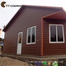 Outdoor Wood Plastic Composite Wall Panel WPC Cladding