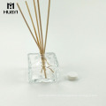 hochwertige quadratische Aroma Parfüm Container leer Reed Diffusor Glasflasche