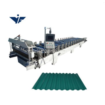 440V roof panel roll forming machine