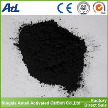 Phosphoric acid method wood activated carbon