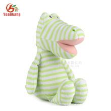 Dragão atacado brinquedo de pelúcia recheado brinquedos dragão verde