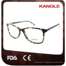 La plus nouvelle mode Lady forme hot seller acétate optique montures et acétate lunettes lunettes