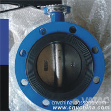 Vatac Cast Iron Flanged Lever Butterfly Valve