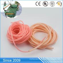 Mehrfarbiger wasserdichter Plastiküberzogener Polyester-Seil-Hundeleine
