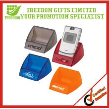 Support de téléphone portable en plastique personnalisé promotionnel de qualité supérieure