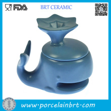 Blue Dolphin Shape Ceramic Cookie Mug