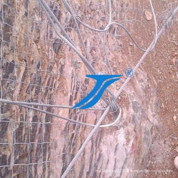 Barrières Sns Rockfall et des clôtures pour protéger la montagne