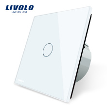 Livolo Electric Panel Switch EU Standard Interrupteur Tactile Sensible Contact Tactile 220V
