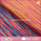 polyester/spandex space dye yarn fabric
