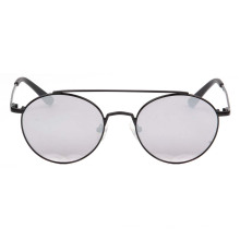 Metal uv400 mens silver sunglasses venta