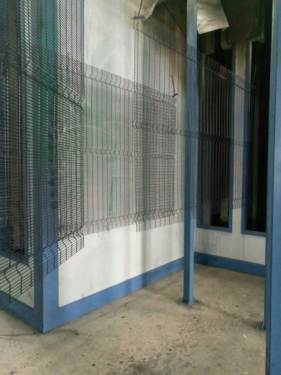 wire mesh security fencing panels powder coated