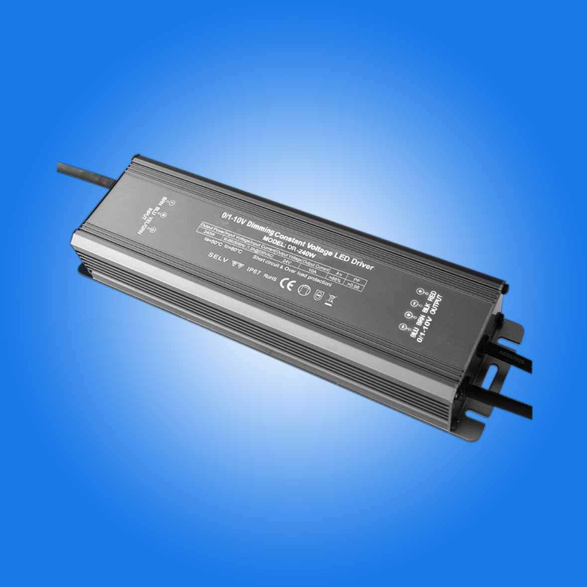 0-10v dimmable led driver 240w