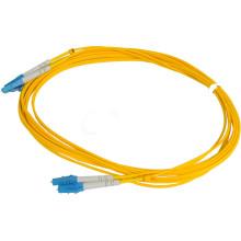 Alta qualidade promoção LC fibra óptica remendo cabo LC mm jumper caber
